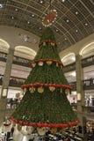 De lichten van Kerstmisstraten Stock Foto's