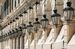 De Lichten van Korfu Stock Afbeelding