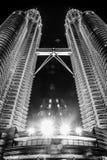 De lichten van Kuala Lumpur Royalty-vrije Stock Afbeeldingen