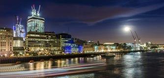 De lichten van Londen royalty-vrije stock foto's