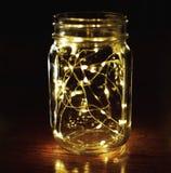 De lichten van de metselaarkruik royalty-vrije stock foto's