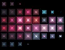 De Lichten van Mulitcolored Stock Foto's