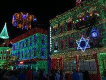 De Lichten van Osbornekerstmis bij Hollywood-Studio's, Orlando, FL Royalty-vrije Stock Foto's