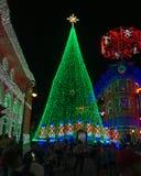 De Lichten van Osbornekerstmis bij Hollywood-Studio's, Orlando, FL Stock Fotografie