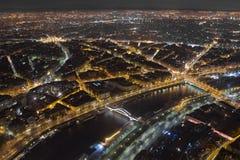 De lichten van Parijs Royalty-vrije Stock Afbeelding