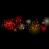 De lichten van Sparkly Stock Afbeeldingen