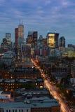 De lichten van Toronto royalty-vrije stock afbeeldingen