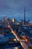 De lichten van Toronto royalty-vrije stock foto's