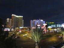 De lichten van Vegas van Las royalty-vrije stock foto