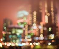 De lichtenachtergrond van Blured Stock Foto's