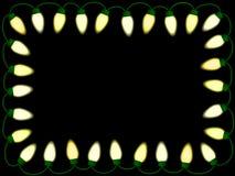 De lichtengrens van Kerstmis/van de partij Royalty-vrije Stock Fotografie
