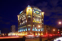 De lichtgevende bouw Stock Fotografie