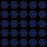 De lichtgevende verticale lijnen, neonlichten, abstracte verlichte achtergrond, ultraviolet, spectrum van heldere kleuren, laser  royalty-vrije illustratie