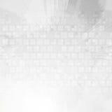 De lichtgrijze achtergrond van technologie grunge Stock Fotografie