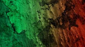De lichtgroene robijnrode gevolgen van het rode kleurenmengsel vatten muur geweven achtergrondbehang vectorillustratie samen vector illustratie