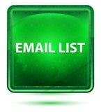 De Lichtgroene Vierkante Knoop van het e-maillijstneon vector illustratie