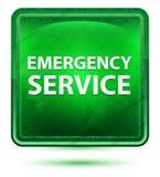 De Lichtgroene Vierkante Knoop van het hulpdienstneon stock illustratie