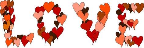 De liefde Stock Afbeeldingen