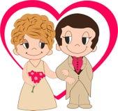 De liefde is Royalty-vrije Stock Foto
