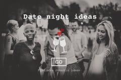 De liefde citeert het Romaanse Concept van de Valentijnskaartenwebsite stock afbeelding