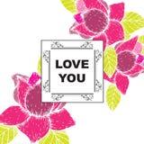 De liefde die u hebt gekaard Royalty-vrije Stock Fotografie
