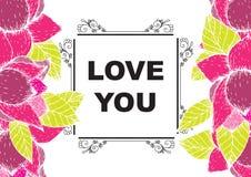 De liefde die u hebt gekaard Royalty-vrije Stock Foto