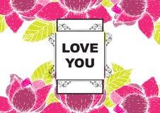 De liefde die u hebt gekaard Stock Afbeeldingen