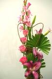 De liefde evenaart roze rozen Stock Afbeeldingen