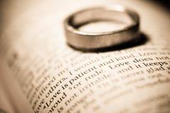 De liefde is Geduldig en Vriendelijk Royalty-vrije Stock Afbeeldingen
