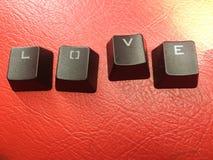 De liefde is grappige dingen Royalty-vrije Stock Foto