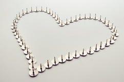 De liefde kwetst Stock Foto