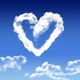 De liefde is in de lucht Stock Foto's