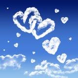 De liefde is in de lucht Royalty-vrije Stock Afbeelding