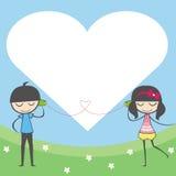 De liefde is tot dusver Agenda en blocnote. Stock Foto