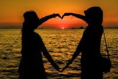 De liefde is universeel Stock Fotografie