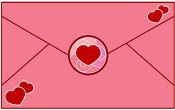 De Liefde van de brief Stock Foto