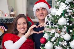 De liefde van de de wintervakantie Royalty-vrije Stock Afbeeldingen