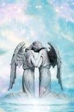 De liefde van de engel Stock Afbeeldingen