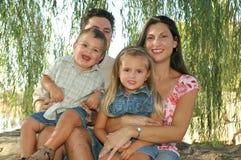 De Liefde van de familie Stock Afbeeldingen