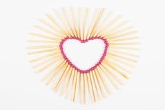 De liefde van de hartgelijke Stock Foto's
