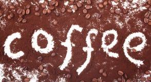 De liefde van de koffie Royalty-vrije Stock Foto's