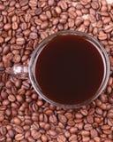 De liefde van de koffie Stock Fotografie