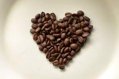 De liefde van de koffie stock afbeeldingen