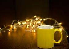 De liefde van de koffie Royalty-vrije Stock Afbeeldingen
