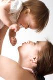 De liefde van de moeder Royalty-vrije Stock Foto
