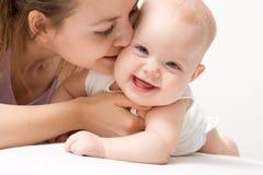 De liefde van de moeder Royalty-vrije Stock Foto's