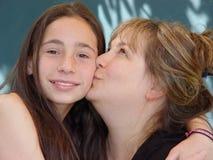 De liefde van de moeder Stock Foto's
