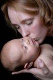 De liefde van de moeder `s Stock Foto's