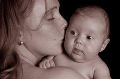 De liefde van de moeder `s Royalty-vrije Stock Afbeelding