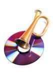De liefde van de muziek stock foto's